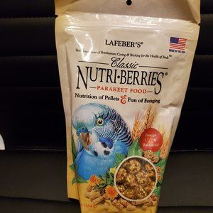 NWT Lafeber's Classic Nutriberries